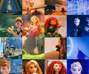 anna, frozen, and merida image