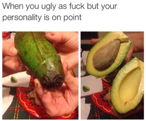 personality, ugly, and funny image