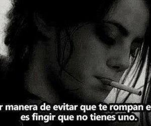 corazon, frases, and fingir image