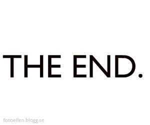 text, the end, and words image