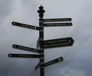 directions, london, and travel image