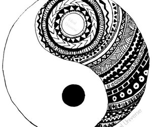 black and white, pattern, and chic image
