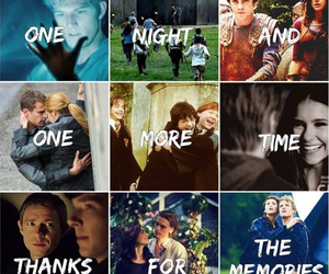 fall out boy, the vampire diaries, and the maze runner image