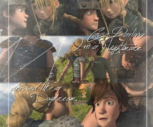 astrid, couple, and how to train your dragon image