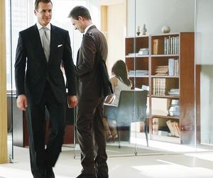 suits, gabriel macht, and patrick j. adams image