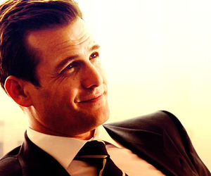 suits, gabriel macht, and harvey specter image