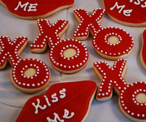 Cookies and valentines image