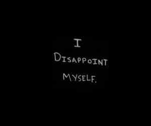 sad, quotes, and myself image