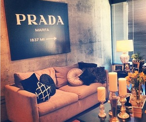 bedrooms, loft, and Prada image