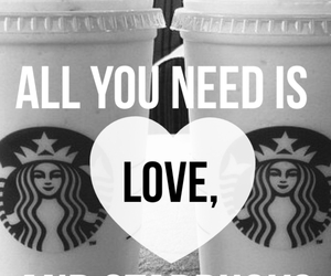 starbucks, wallpaper, and cute image