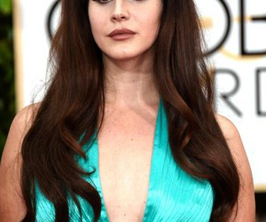 lana del rey, golden globes, and Queen image