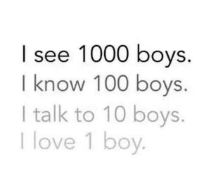 love, boy, and quotes image