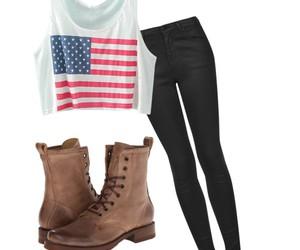 black, boots, and eeuu image
