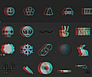 grunge, emojis, and cool image