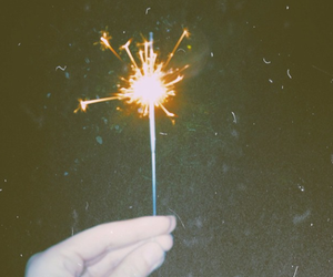 art, fireworks, and hipster image