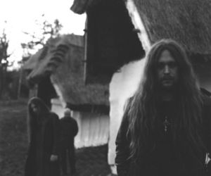 black and white, Black Metal, and hair image