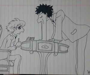 drawing, ohshc, and honey-senpai image