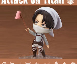 Figure, levi, and attack on titan image