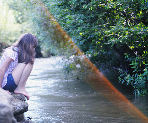 beautiful, photography, and river image