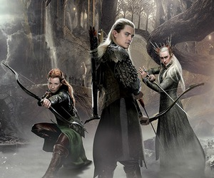 the hobbit, Legolas, and thranduil image