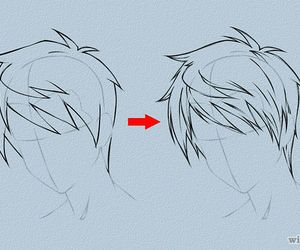 hair, boy, and tutorial image