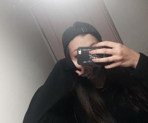 black, case, and cap image