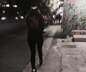 black, grunge, and night image