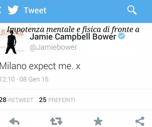 italy, jace, and Jamie Campbell Bower image