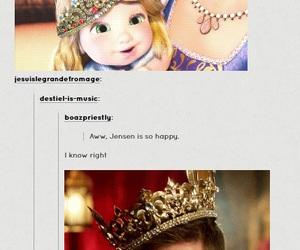 supernatural, princess, and funny image