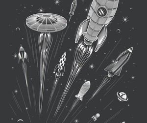 black, space, and cool image