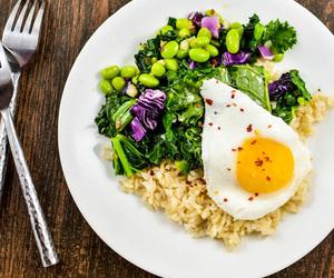bean, egg, and breakfast image