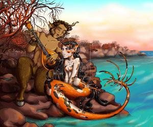 fantasy, serenade, and fawn image