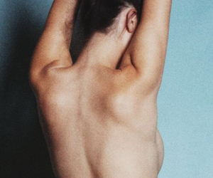 bare back, bare skin, and reach image