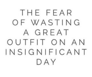 outfit, fear, and quote image