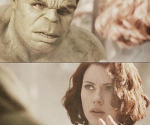 black widow, Hulk, and mark ruffalo image