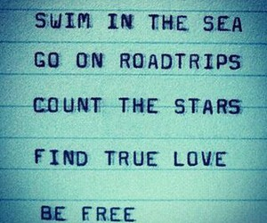 enjoy, live, and swim image