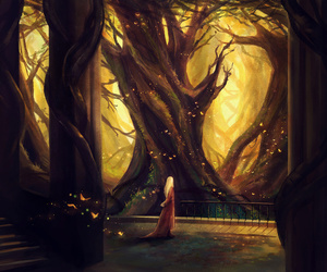 art, the hobbit, and tree image