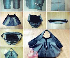 diy, bag, and tutorial image