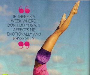 yoga, fitness, and Nina Dobrev image