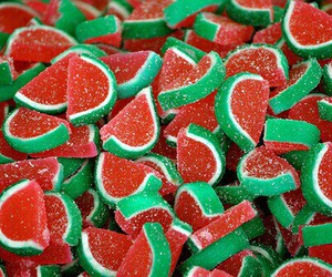 candy, watermelon, and sweet image