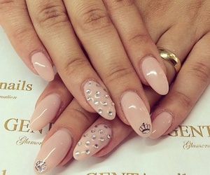beauty, brunette, and nails image