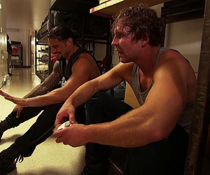 dean ambrose and roman reigns image