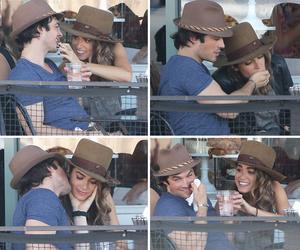hats, kiss, and love image