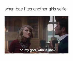 bae, funny, and Taylor Swift image