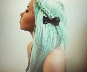 fashion, love, and blue hair image