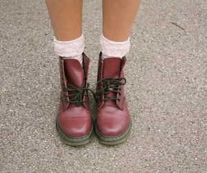boots, fashion, and trend image