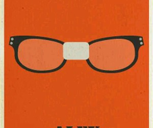 glasses, poster, and orange is the new black image