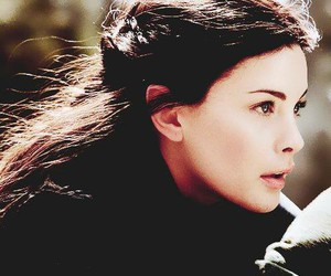 liv tyler, arwen, and lord of the rings image
