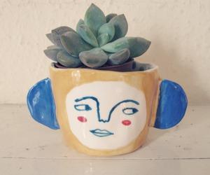 Ceramic and succulent image