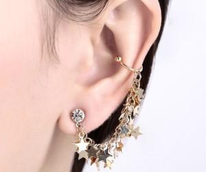 ear cuff, star earring, and star ear cuff image